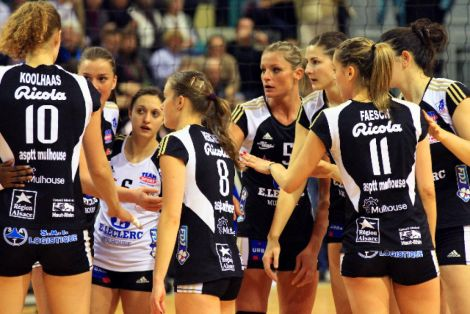 Ligue féminine Volley : ASPTT Mulhouse - Cannes