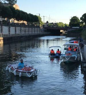 Location estivale à Mulhouse (bateaux, pédalos, Rosalie)