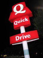 Le logo des restaurants Quick, qui orne la plupart des restaurants de la chaîne