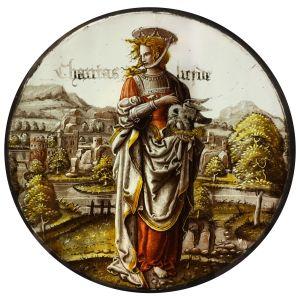 « Personifikation der Caritas »- Künstler, Beteiligte : David Joris (?) / Kölnischer Meister - Entstehungszeit : um 1525-1550