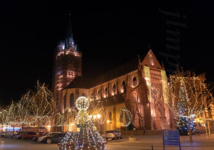 La Magie de Noël à Cernay et ses illuminations de fête