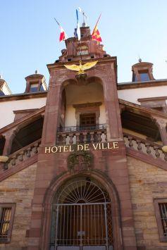 L\'hôtel de ville de Soultz