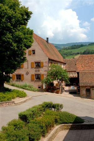 La Maison du Val de Villé est installée dans une ferme du XVIIIe siècle, à Albé