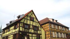 Des maisons alsaciennes typiques à Bischheim