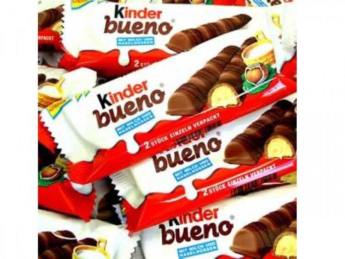 Manger compulsivement des Kinder Bueno.