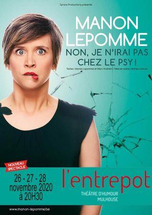 Manon Lepomme - Non, je n\'irai pas chez le psy