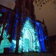 Noël 2018 à Sélestat : Mapping vidéo «Lumières de Noël»