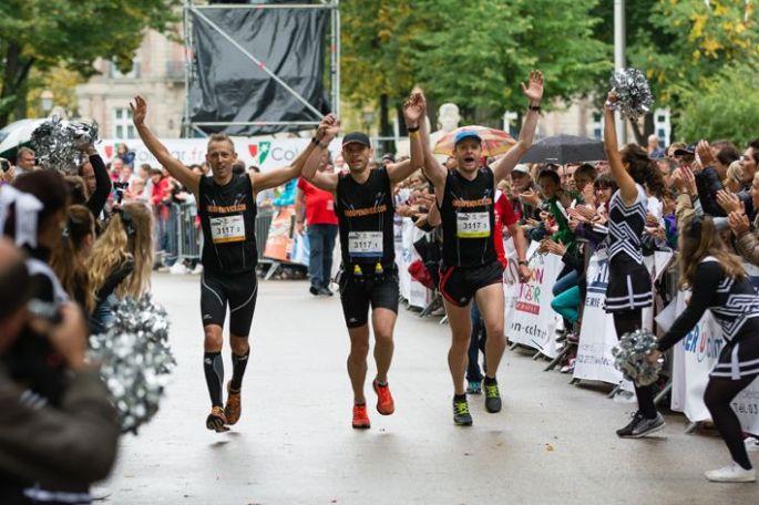 L\'arrivée du Marathon de Colmar