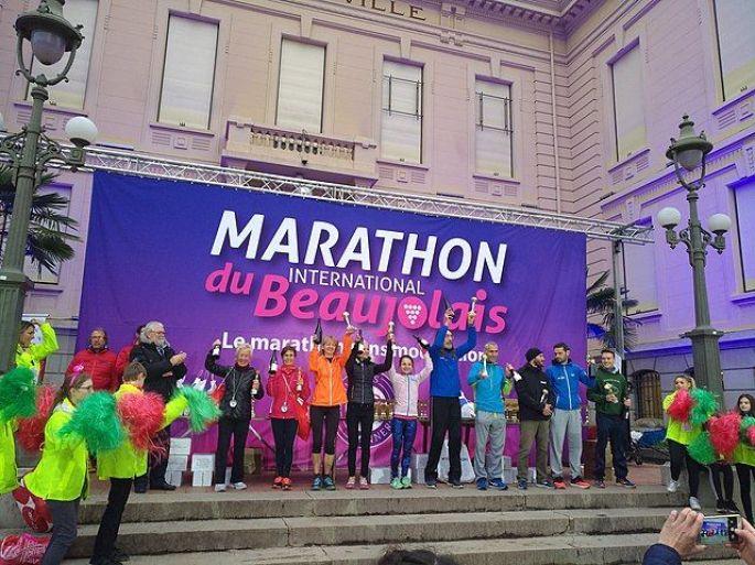 Marathon International du Beaujolais près de Lyon