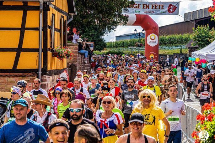Il y a du monde au Marathon du Vignoble d\'Alsace