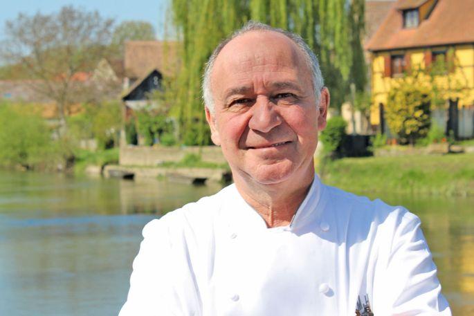 Marc Haeberlin, chef de l'Auberge de l'Ill