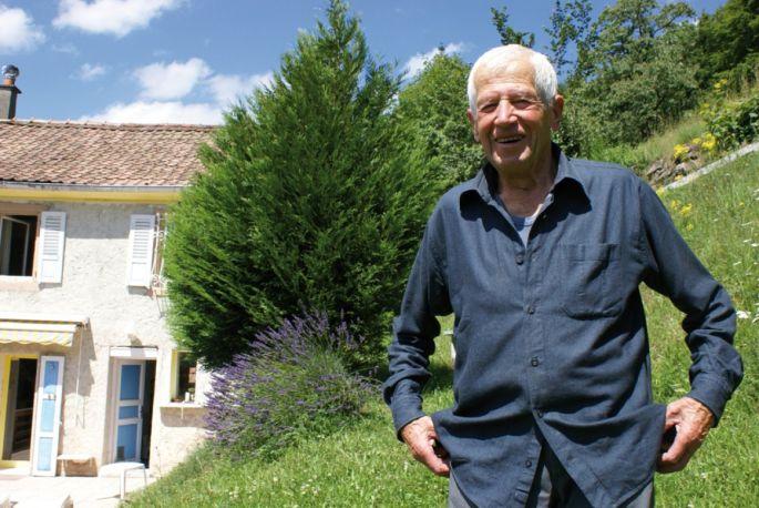 Marcel Recher, 85 ans, n\'exclut pas de repartir en voyage. \