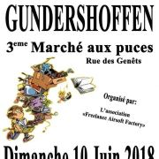 Marché aux puces à Gundershoffen 2018