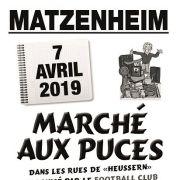 Marché aux puces à Matzenheim 2019