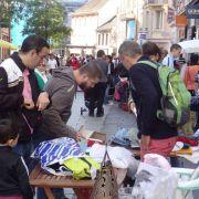 Marché aux puces du Klapperstein à Mulhouse - Centre historique 2019