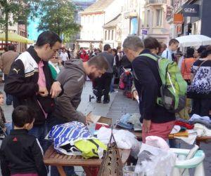 C\'est l\'heure de chiner dans les rues du centre ville de Mulhouse