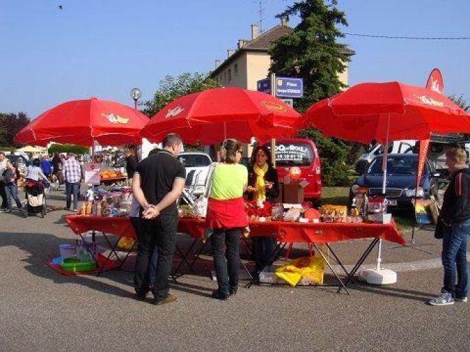 Marché aux puces à Pulversheim 2014