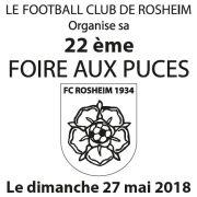 Marché aux puces à Rosheim 2018