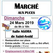 Marché aux puces à Saint-Avold 2019