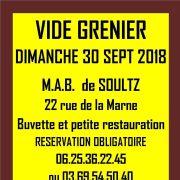 Marché aux puces à Soultz 2018