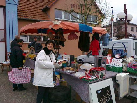 Marché aux puces à Uffheim