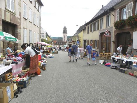 Le marché aux puces de Wasselonne