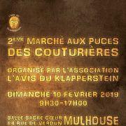 Marché aux puces des couturières à Mulhouse 2019