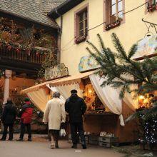Marché de Noël authentique à Kaysersberg