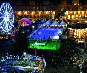 La place Ducale au temps du Marché de Noël à Charleville-Mézières (Ardennes)