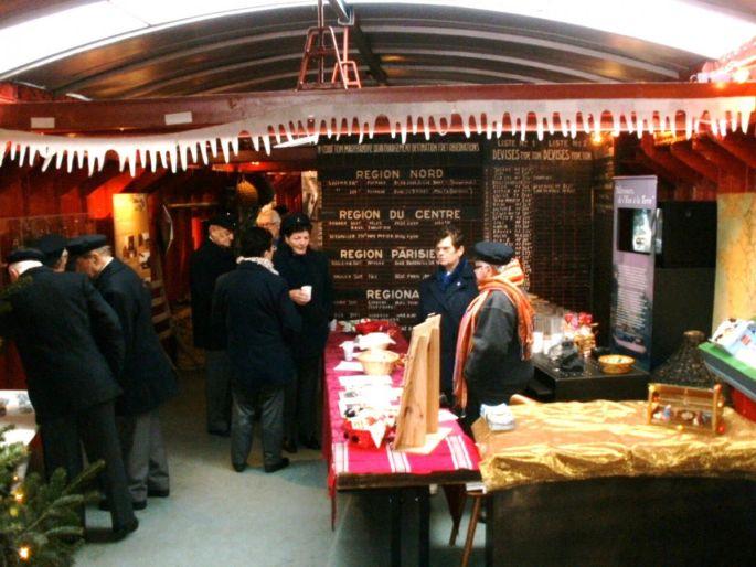 Marché de Noël des bateliers à Offendorf