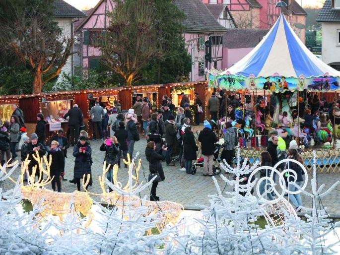 Le Marché de Noël de Ottmarsheim