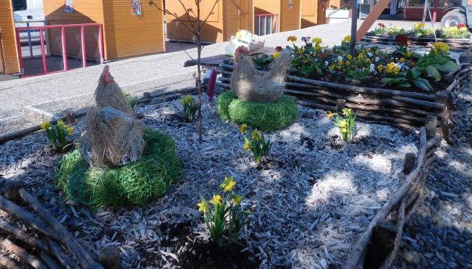 Le marché de Pâques à Guebwiller et ses jolies décorations