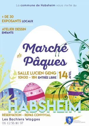 Marché de Pâques à Habsheim 2019
