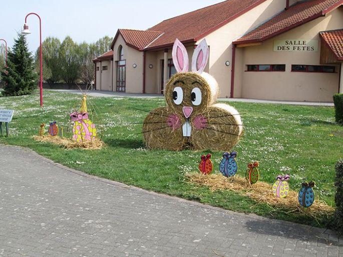 Lapin\'up, la mascotte du Marché de Pâques à Nordhouse!