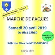 Marché de Pâques de Neuf-Brisach 2019
