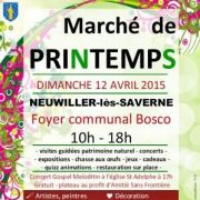 Marché de Printemps à Neuwiller-lès-Saverne 2018
