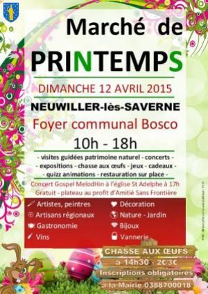 Marché de Printemps à Neuwiller-lès-Saverne 2015