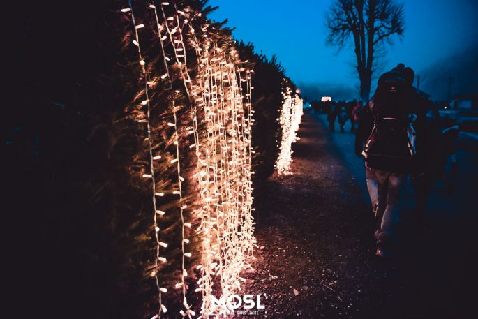 La marche des lumières de Noël à Abreschviller