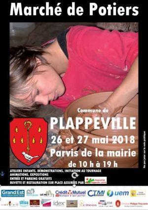 Marché des potiers à Plappeville 2018