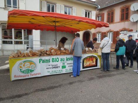 Des producteurs de montagne proposent leurs produits du terroir à Saâles