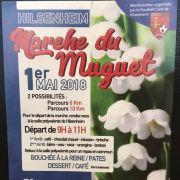 Marche du Muguet à Hilsenheim 2018