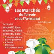 Marché du Terroir et de l\'Artisanat à Contrexéville 2018