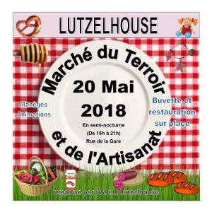 Marché du Terroir et de l\'Artisanat à Lutzelhouse 2018