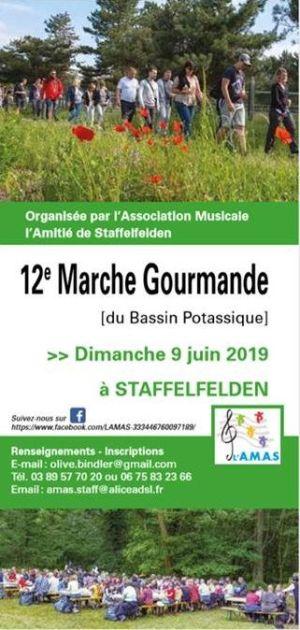 Marche gourmande du Bassin potassique à Staffelfelden 2019