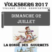 Marche gourmande : La ronde des gourmets à Volksberg 2018