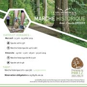 Marche Historique et bien-être au Domaine du HIRTZ