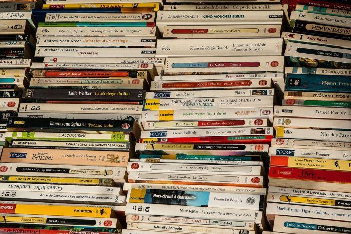 Des livres d\'occasion au marché aux livres de Strasbourg!