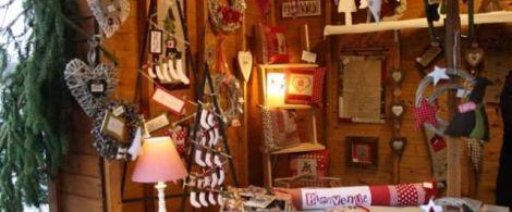 23 créateurs sont réunis à Niederbonn les Bains pour le marché de Noël artisanal