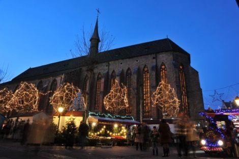 Noël à Colmar : Marché de Noël de la Place des Dominicains