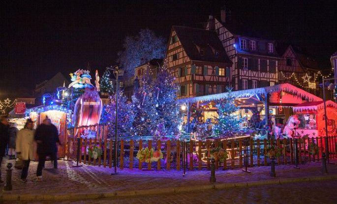 Le marché de Noël des enfants à Colmar